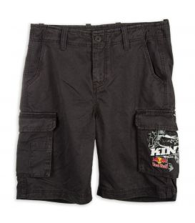 KINI-RB Cargo Shorts Dark Grey
