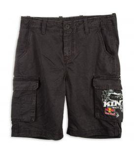 KINI-RB Cargo Shorts Dark Grey
