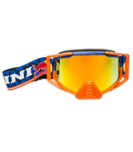 KINI-RB Competition Goggles Navy/Orange