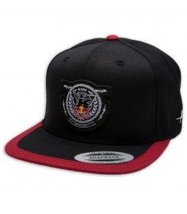 KINI-RB Crest Cap Black/Red