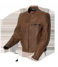Blouson moto cuir SuperAxel - Mtech