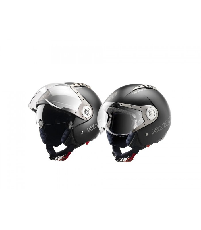 Casque Scooter Jet Blacky By Smook Riderpack
