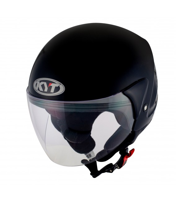 Casque Jet COUGAR plain black