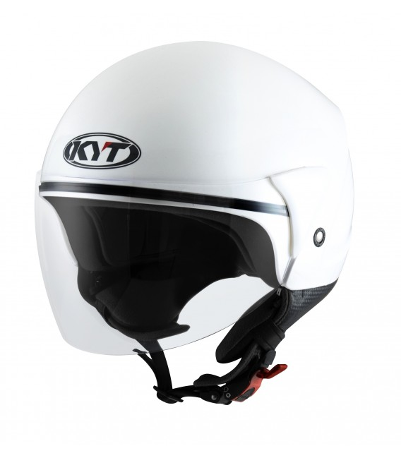 Casque Jet COUGAR plain white