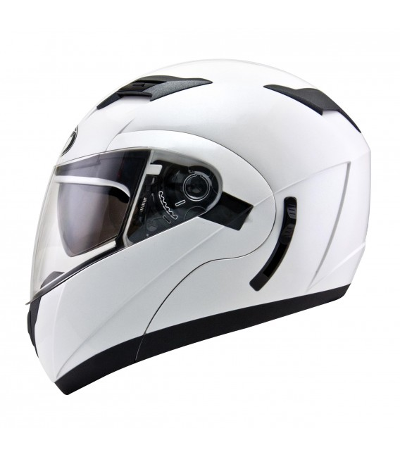 Casque Modulable CONVAIR Plain White