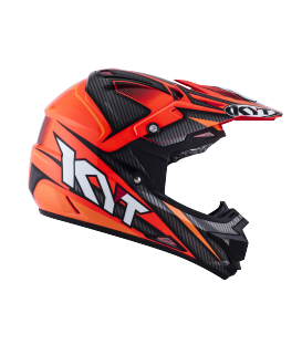 Casque Tout-Terrain CROSS-OVER Power black red