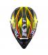 Casque Tout-Terrain CROSS-OVER Power black yellow