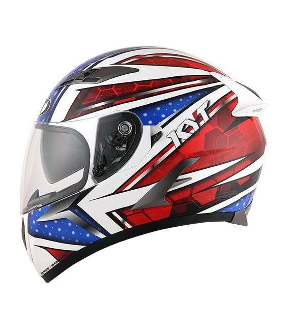 Casque intégral FALCON all star blue red