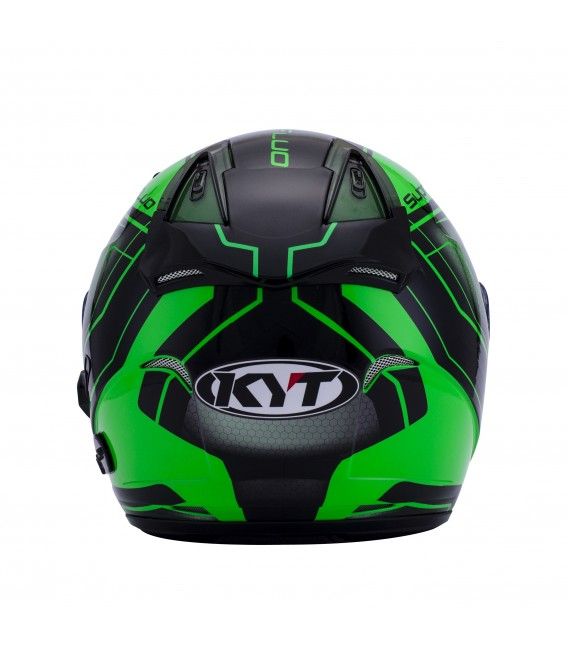Casque Jet HELLCAT superfluo green