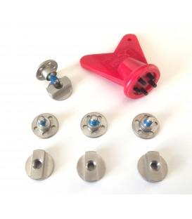 Kit: axes + outil de serrage pour bottes 1000 PUMA